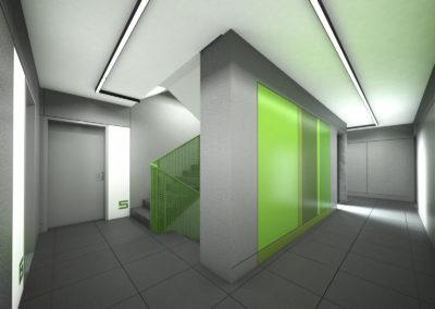 Górny Taras – części wspólne, projekt – Neostudio, wizualizacje – 1050 Pracowania Architektury