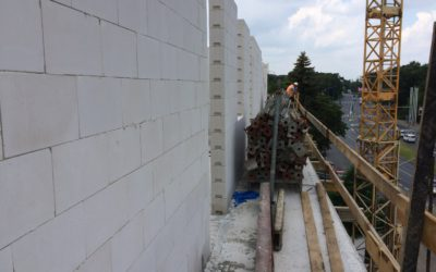 Relacja z budowy Górnego Tarasu cz.6
